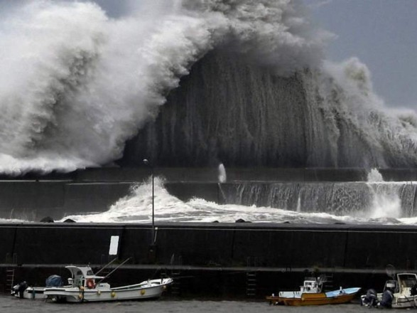 Японію накрив Тайфун