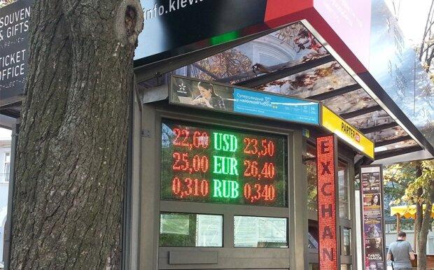 Курс валют 21 вересня зіб'є з ніг євро, поки гривня і долар боряться за гаманці українців