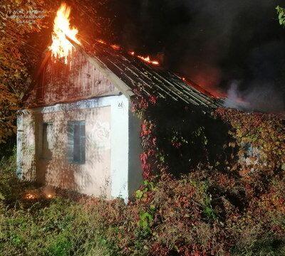 На Миколаївщині рятувальники ліквідували пожежу житлового будинку